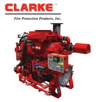 CLARKE Fire Diesel Engine
