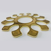 CNC Laser Cutting - Brass Machinery Industry