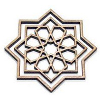 CNC Laser Cutting - Wood Decorative Industry