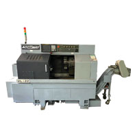 CNC Lathe Machine ACCUWAY (Used) 8-Inch Chuck