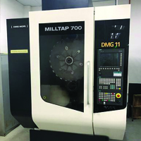 CNC Milling Drill And Tap Machine
