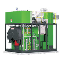 Compac Fx Mini Biomass Fired Steam Boiler