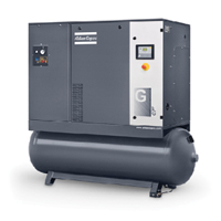 Compressor With Built In Air Dryer Tank