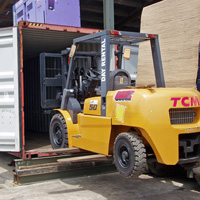 Container Entry Forklift
