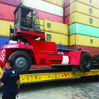 Container Stacker