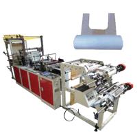 COPLAS Servo Driven Manual (T-Shirt) Bag On Roll Making Machine