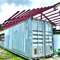Customized Container Roof
