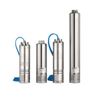 DAVEY Submersible Borehole Pumps And Motor