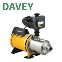 DAVEY Water Pumps & Pressure Systems