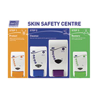 Deb Skin Care & Hand Hygiene Complete Set C/W Dispenser Rack