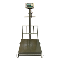 Digital Platform Scale (With Wheel)