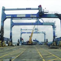 Dismantled Quay Crane