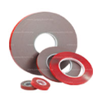 Double Sided Acrylic Tape - Clear & Grey