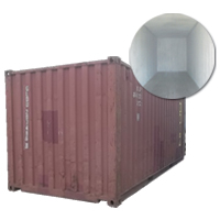 Dry Used Container