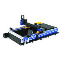 Dual-Drive 3M Pipes And Plates Fiber Laser Cutting Machine