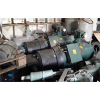 DUNHAM-BUSH Horizontal Screw Type Compressor