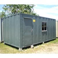 Steel Office Cabin - Fully Steel Made Multipurpose Office Cabin