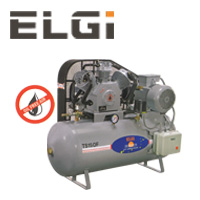 ELGI Oil-Free Reciprocating Air Compressors 10-15HP