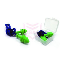 EP-01 Corded Reusable Earplugs With Casing