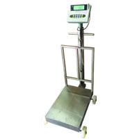 Excell Fully Stainless Steel Platform Scale