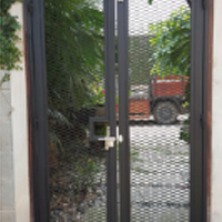 Expanded Metal Door, Malaysia Supplier at Best Price