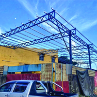 Extension Structural Steel Awning Roof