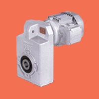 F Series Helical Shaft Mounted Gearmotor
