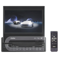 Clarion VZ709A All In One Double Din Multimedia Navigation System