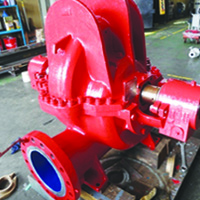 Fire Water Pump Repair & Overhaul & Coating