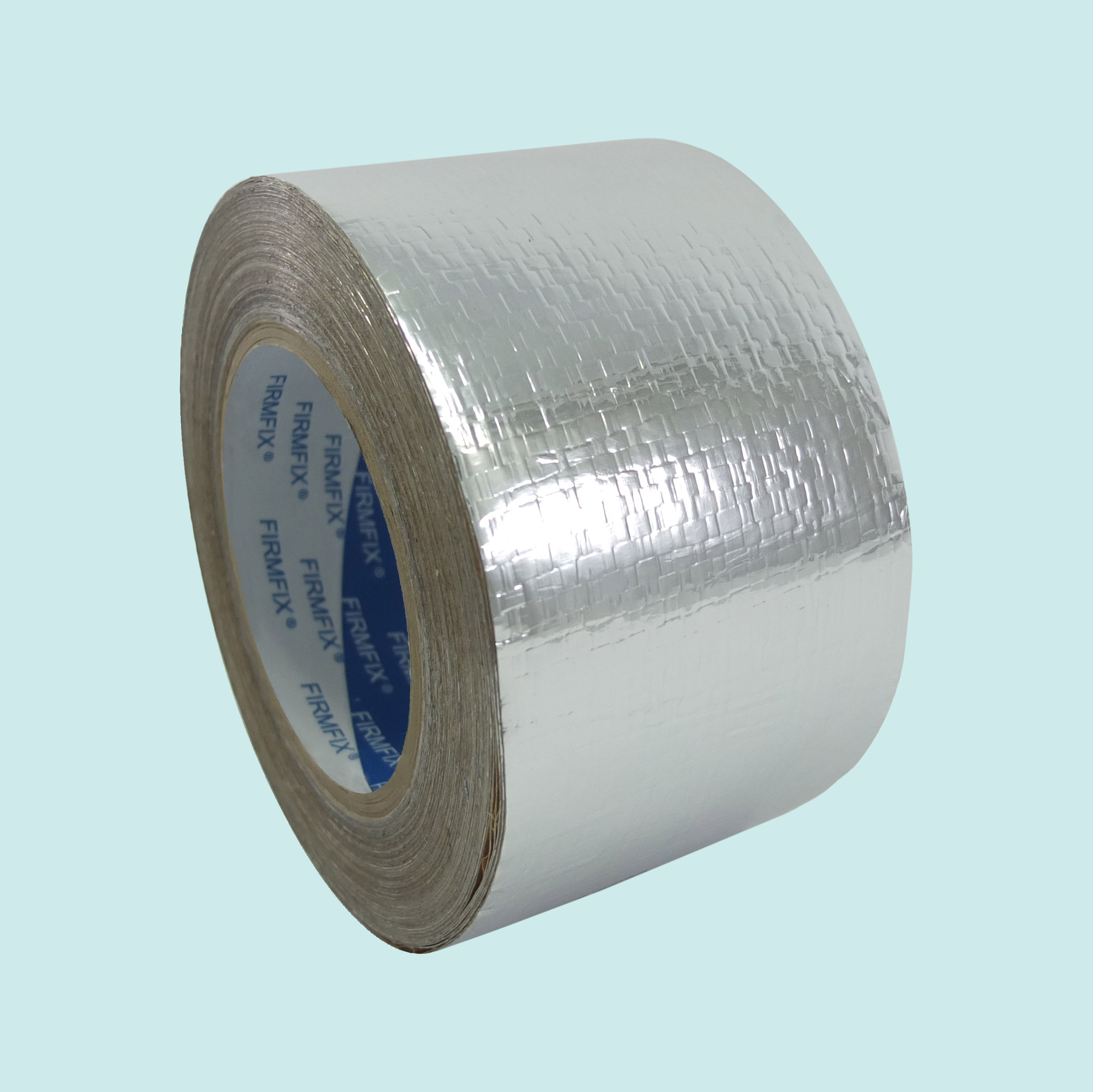 FIRMFIX Reinforced Aluminium Glass Foil Tapes / Aluminium Woven Foil Tapes