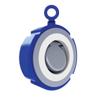 FLUONICS Swing Check Valve