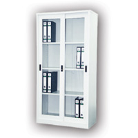 Full Height Cupboard With Glass Sliding Door