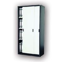 Full Height Cupboard With Steel Sliding Door