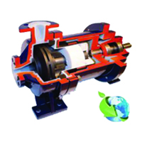Geko-Pumpen PTFE / PFA Lined Magnetic Driven Centrifugal Pump