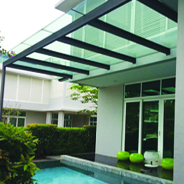 Roofing Awnings Skylights Polycarbonate Awning Outdoor Blind Malaysia