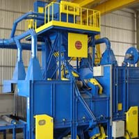 GMSB Roller Conveyor Blast Machine