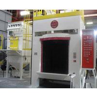 GMSB Rotary Hanger Blast Machine