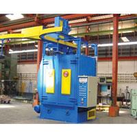 GMSB Y Rail Hanger Blast Machine