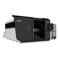 GWEIKE Fiber Laser Cutting Machine Model LF3015GA