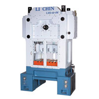 H Type Link Motion Four Point Guide Rod Precision High Speed Press