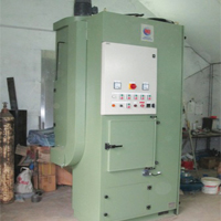 Hanger Blasting Machine