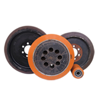Heavy Duty Performance Polyurethane Solid Wheels