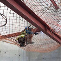 Heavy Duty Safety Catch Netting-Fire Retardant