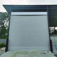 Heavy Duty Zinc Aluminium Roller Shutter