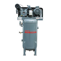 Hitachi Bebicon Oil Flooded Compressor (Vertical Tank Mount Type)