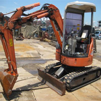 Hitachi Mini Excavator Ex30ur