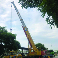 Hourly Crane Rental