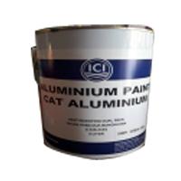 ICI Aluminum Heat Resistant Paint