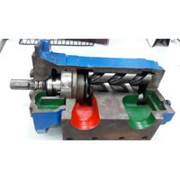 IMO  Screw Pumps For Lub Oil System Triple Screw