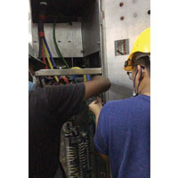 Incoming Cable Installation